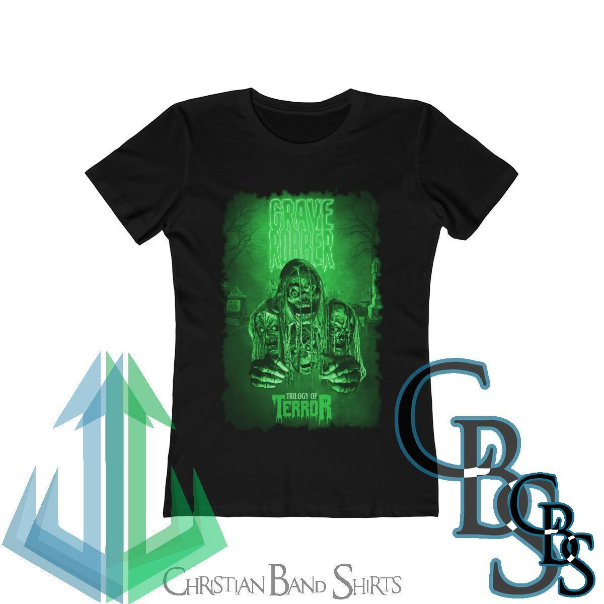Grave Robber Trilogy of Terror (Limited Edition Green) Women's Short Sleeve Tshirt