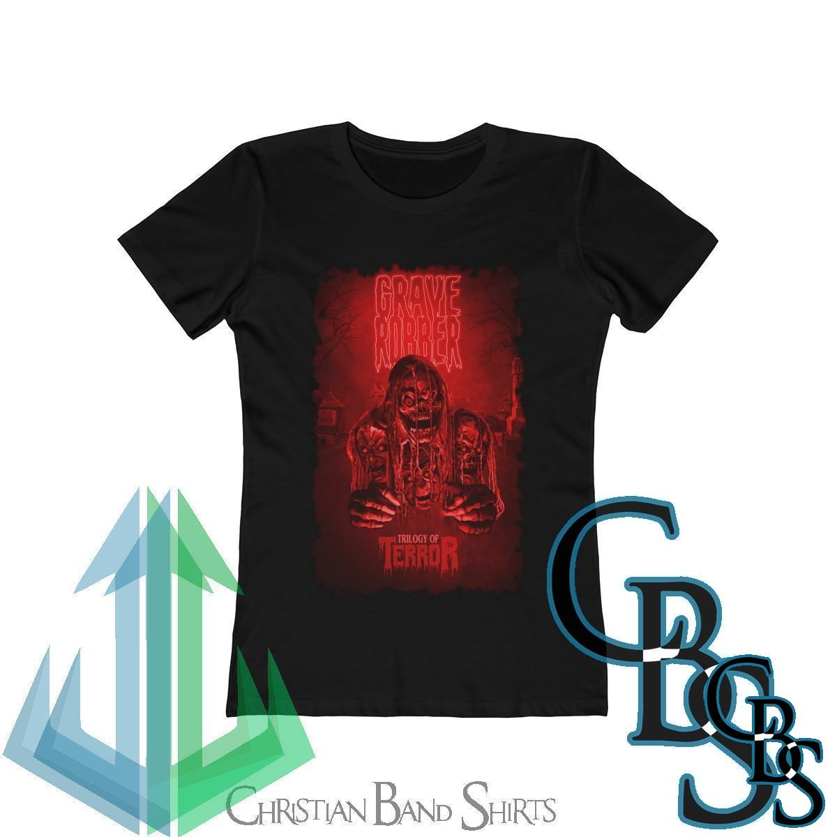 Grave Robber Trilogy of Terror (Limited Edition Red) Women's Short Sleeve Tshirt