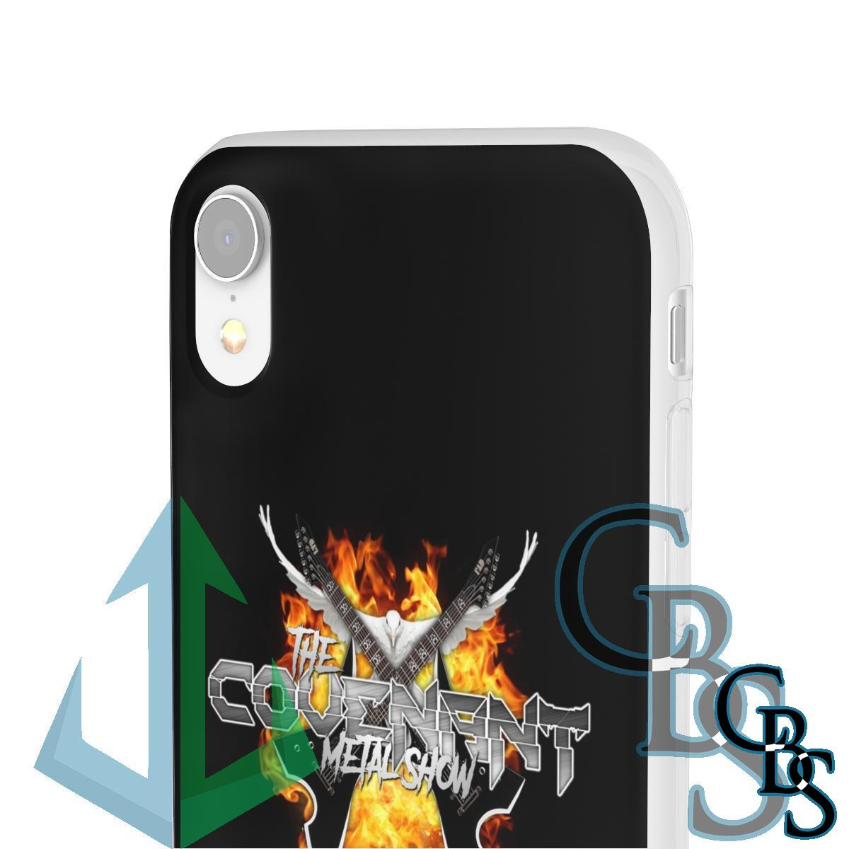 The Covenant Metal Show Clear Edge TPU Phone Cases