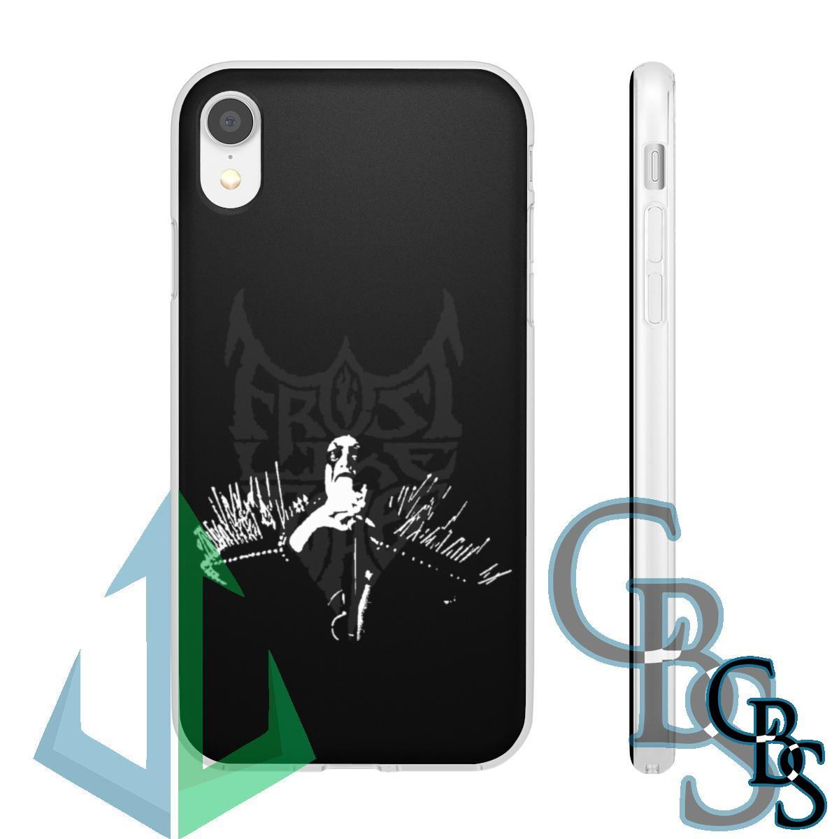 Frost Like Ashes Clear Edge TPU Phone Cases