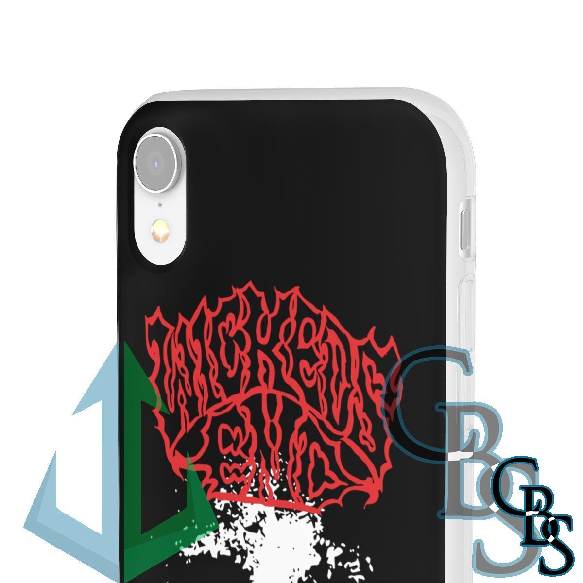 Wickeds End Clear Edge TPU Phone Cases