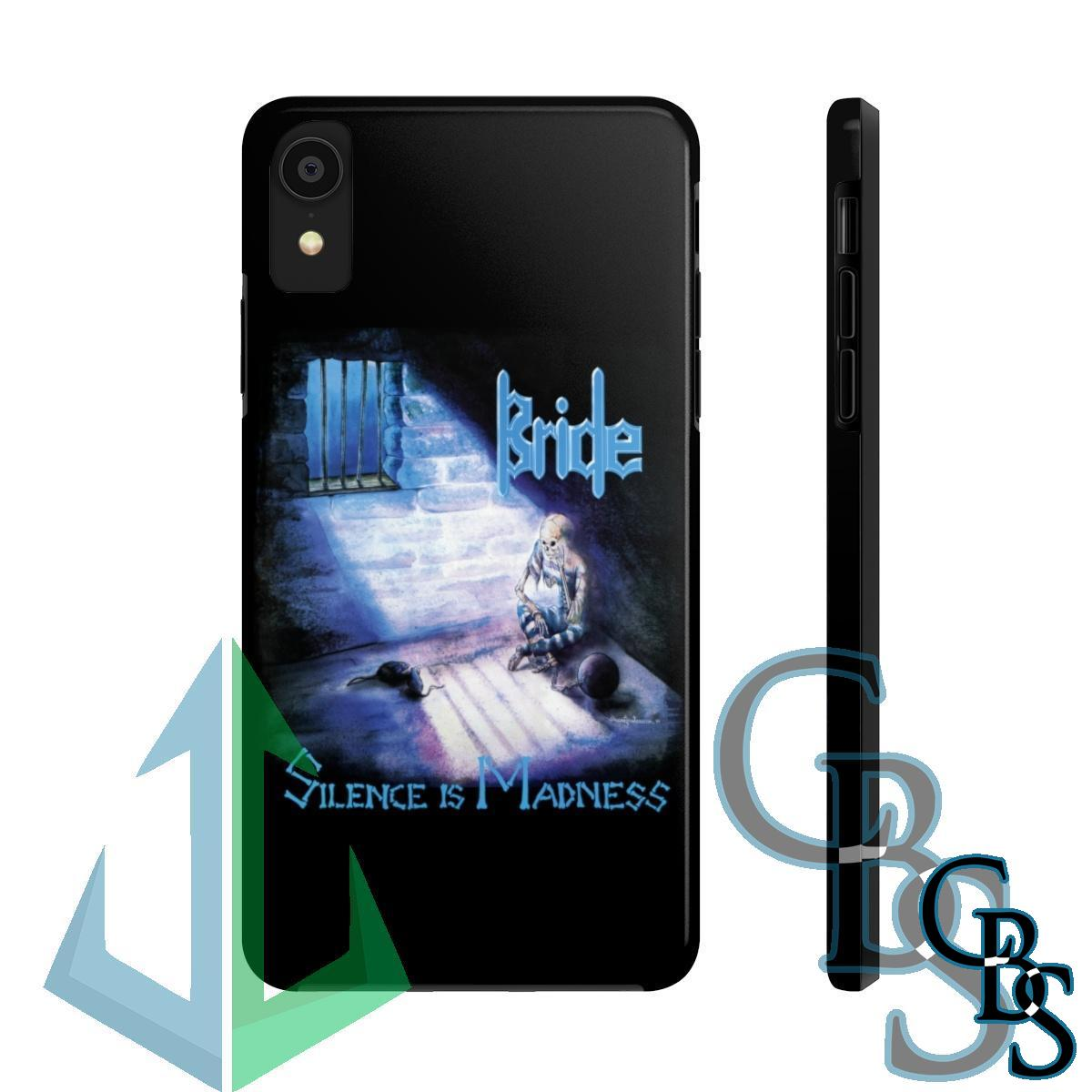 Bride – Silence is Madness iPhone Cases (iPhone 7/7 Plus, iPhone 8/8 Plus, iPhone X, XS, XR, iPhone 11, 11 Pro, 11 Pro Max)