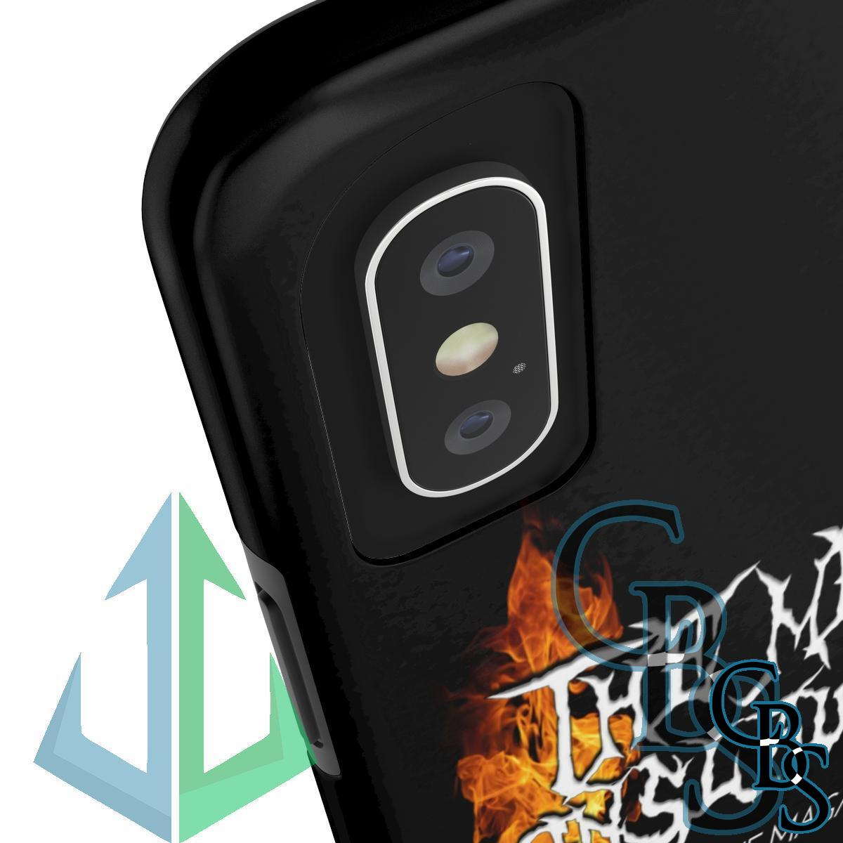 The Metal Onslaught Online Magazine Tough iPhone Cases (iPhone 7/7 Plus, iPhone 8/8 Plus, iPhone X, XS, XR, iPhone 11, 11 Pro, 11 Pro Max)