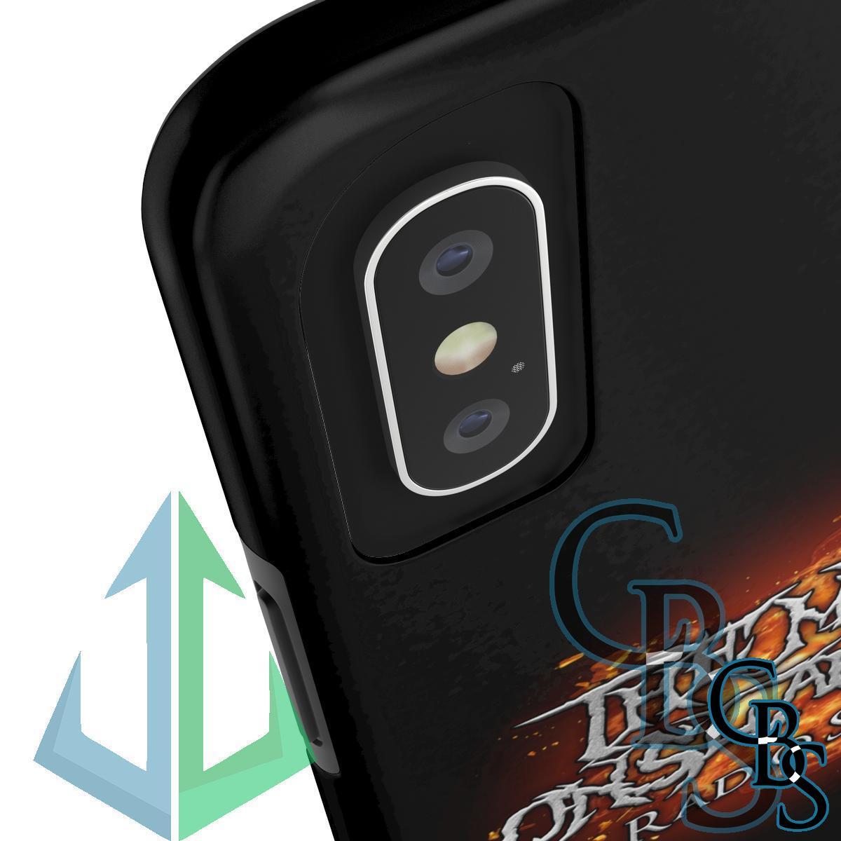 The Metal Onslaught Radio Show Tough iPhone Cases (iPhone 7/7 Plus, iPhone 8/8 Plus, iPhone X, XS, XR, iPhone 11, 11 Pro, 11 Pro Max)