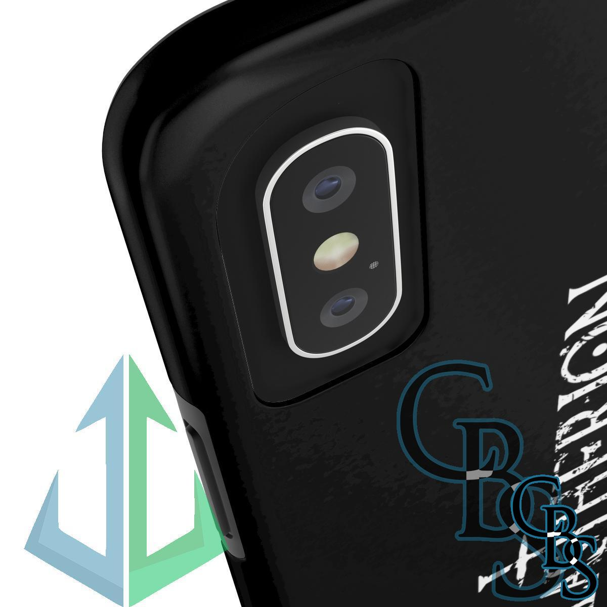 Hilastherion Logo Tough iPhone Cases (iPhone 7/7 Plus, iPhone 8/8 Plus, iPhone X, XS, XR, iPhone 11, 11 Pro, 11 Pro Max)