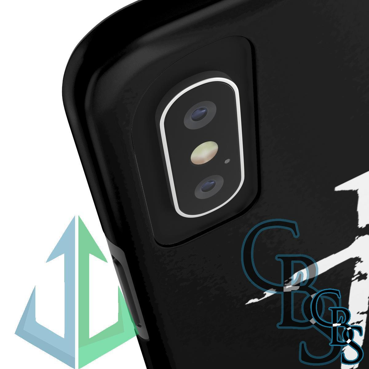 Hilastherion Logo and Cross Tough iPhone Cases (iPhone 7/7 Plus, iPhone 8/8 Plus, iPhone X, XS, XR, iPhone 11, 11 Pro, 11 Pro Max)
