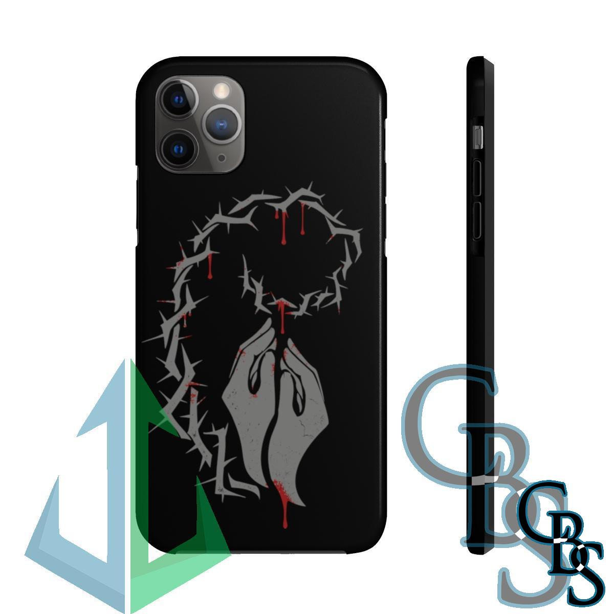 Blood on Our Hands Bleeding Hands (Meltdown) Tough iPhone Cases (iPhone 7/7 Plus, iPhone 8/8 Plus, iPhone X, XS, XR, iPhone 11, 11 Pro, 11 Pro Max)