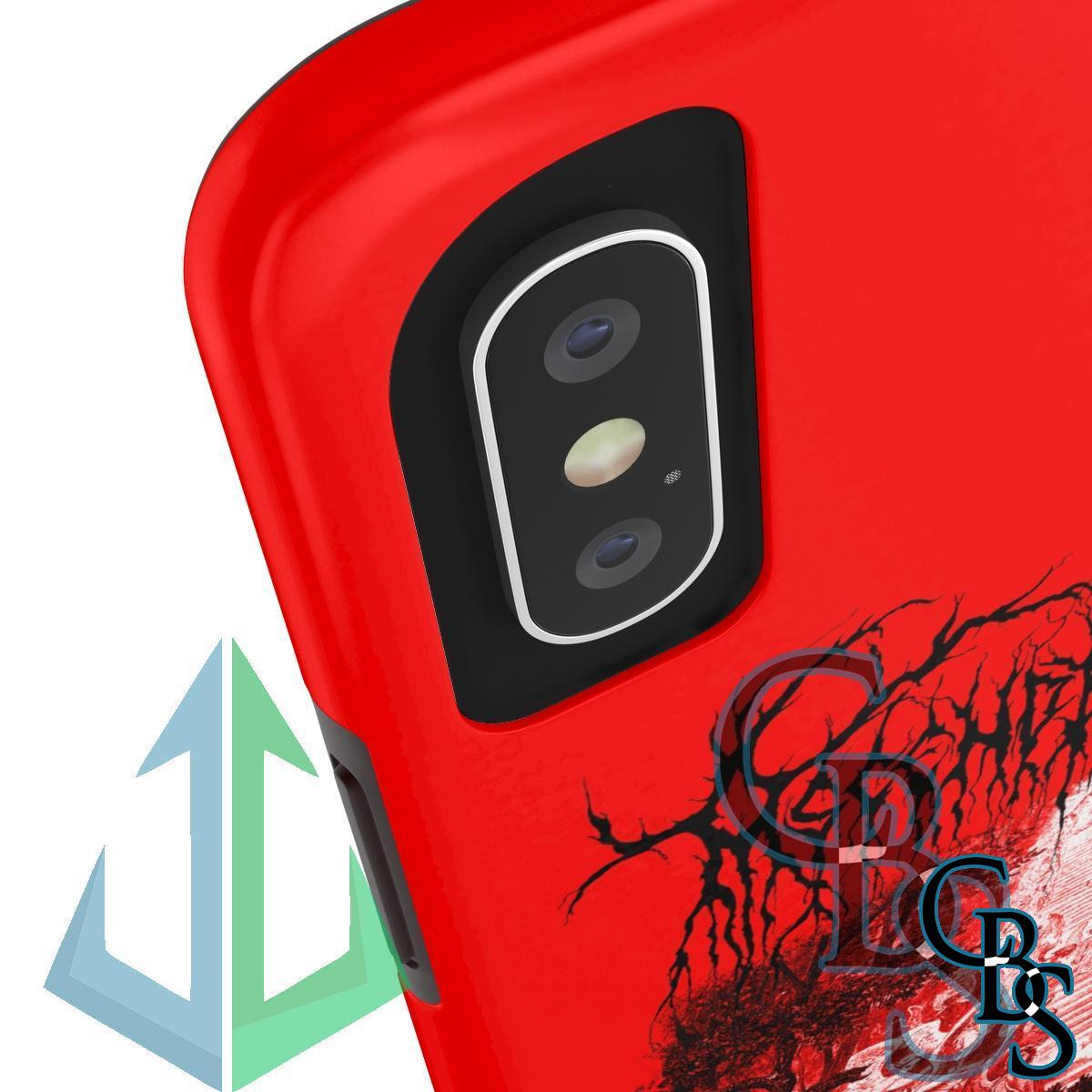 Ascending King – Jacob (Red) iPhone Cases (iPhone 7/7 Plus, iPhone 8/8 Plus, iPhone X, XS, XR, iPhone 11, 11 Pro, 11 Pro Max)