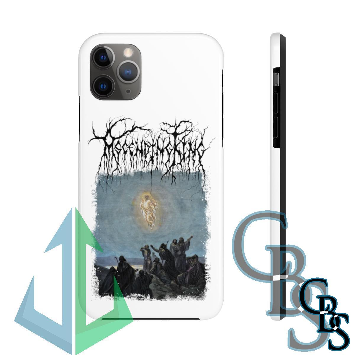 Ascending King – Jesus (White) iPhone Cases (iPhone 7/7 Plus, iPhone 8/8 Plus, iPhone X, XS, XR, iPhone 11, 11 Pro, 11 Pro Max)
