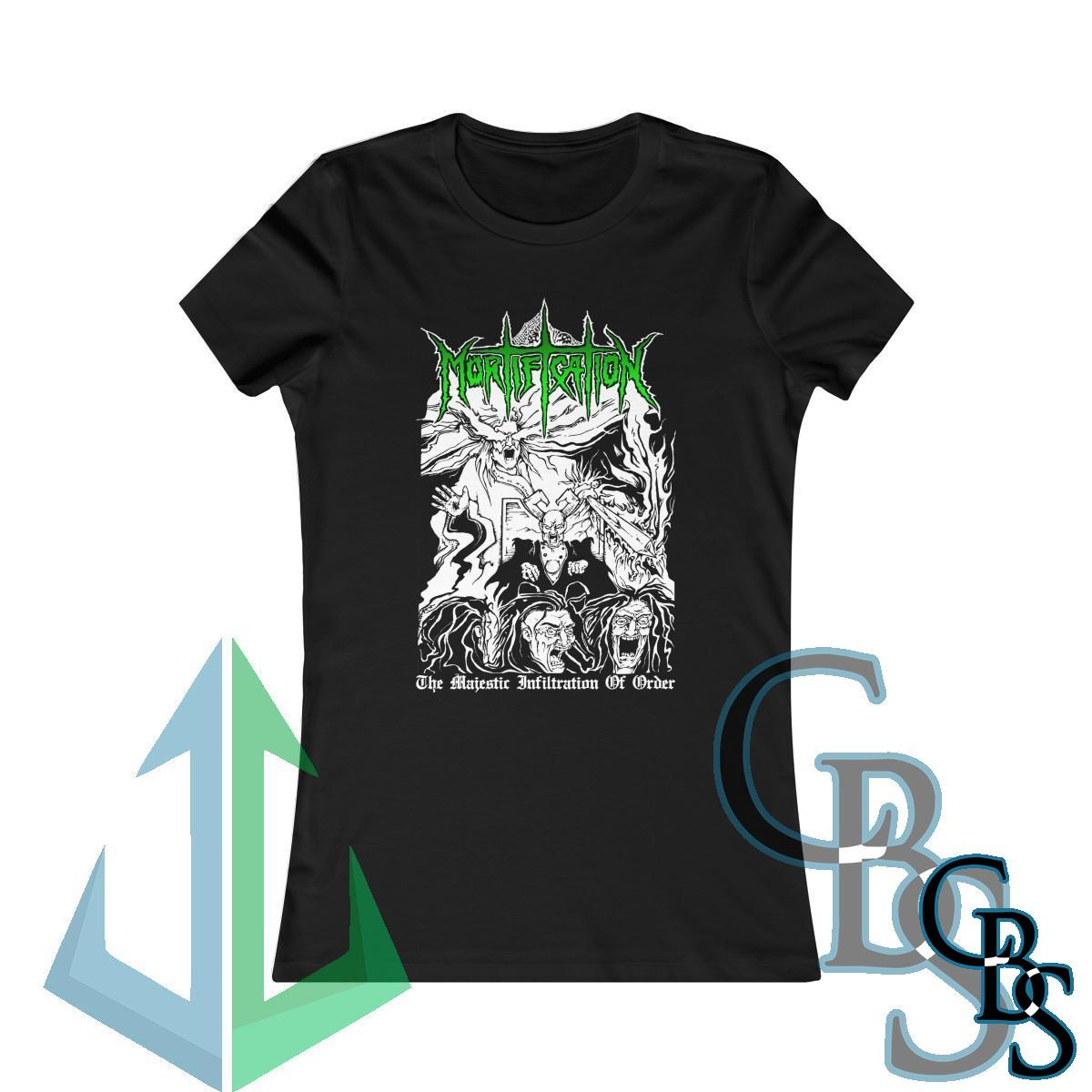 Mortification – The Majestic Infiltration of Order Women's Short Sleeve Tshirt