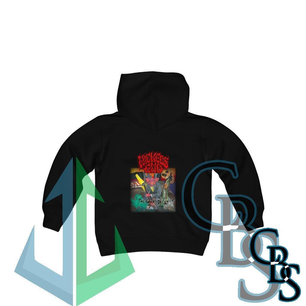 Wickeds End – The Grand Decay Youth Heavy Blend Hooded Sweatshirt