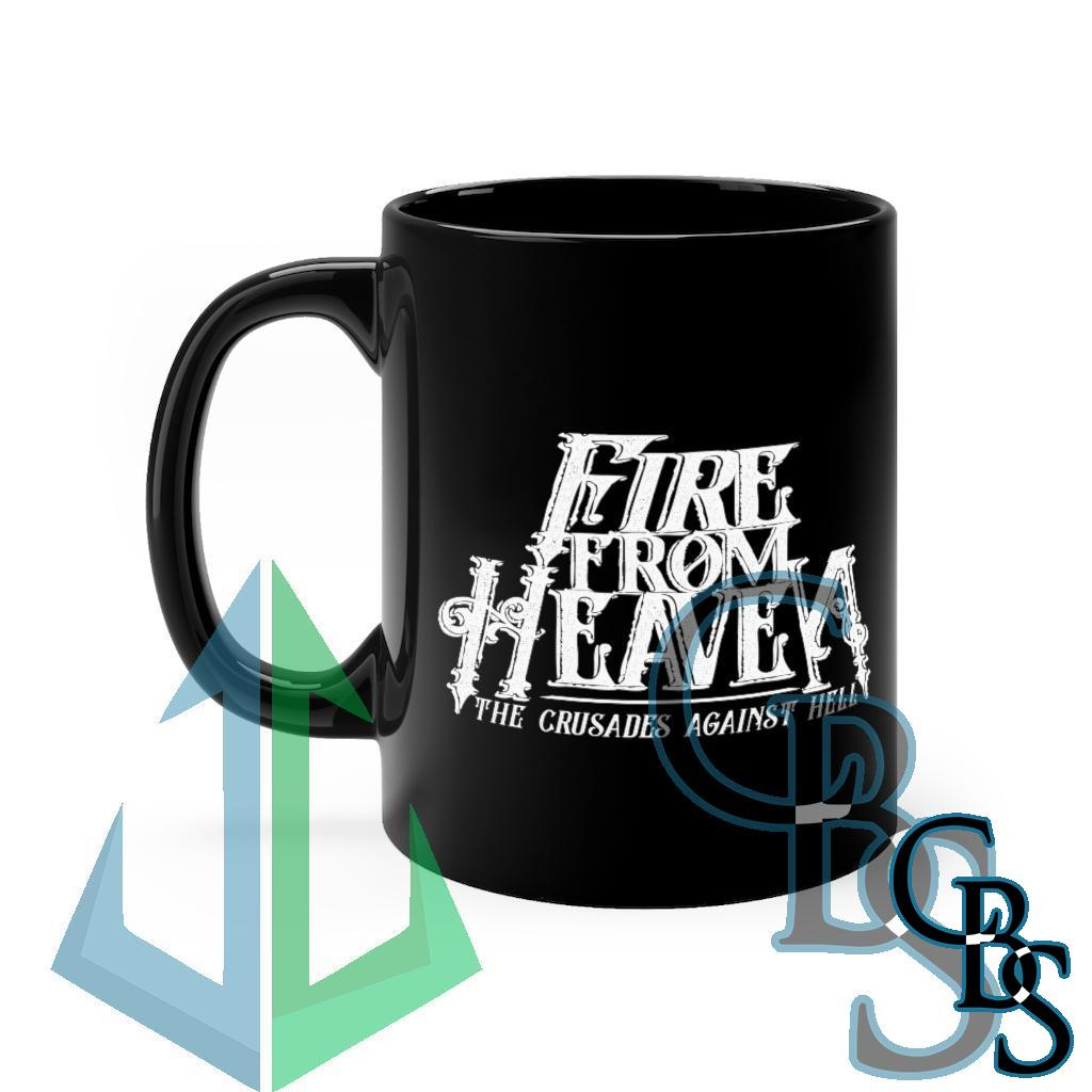 Fire From Heaven – The Crusades Against Hell Black mug 11oz