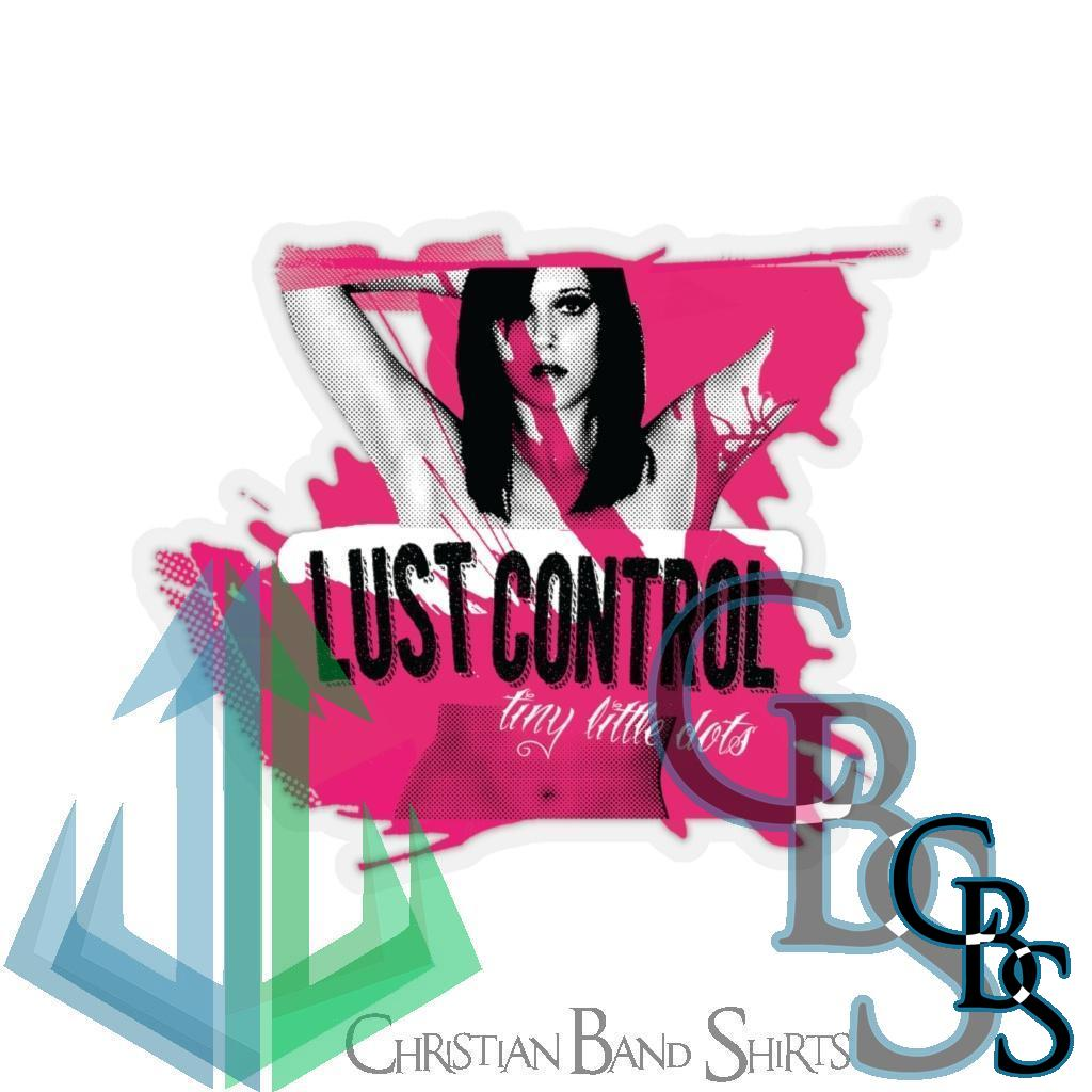 Lust Control – Tiny Little Dots Die Cut Stickers