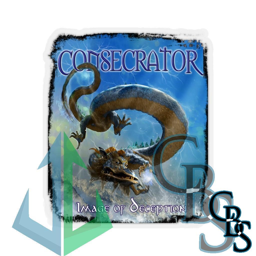 Consecrator Image of Deception Die Cut Stickers
