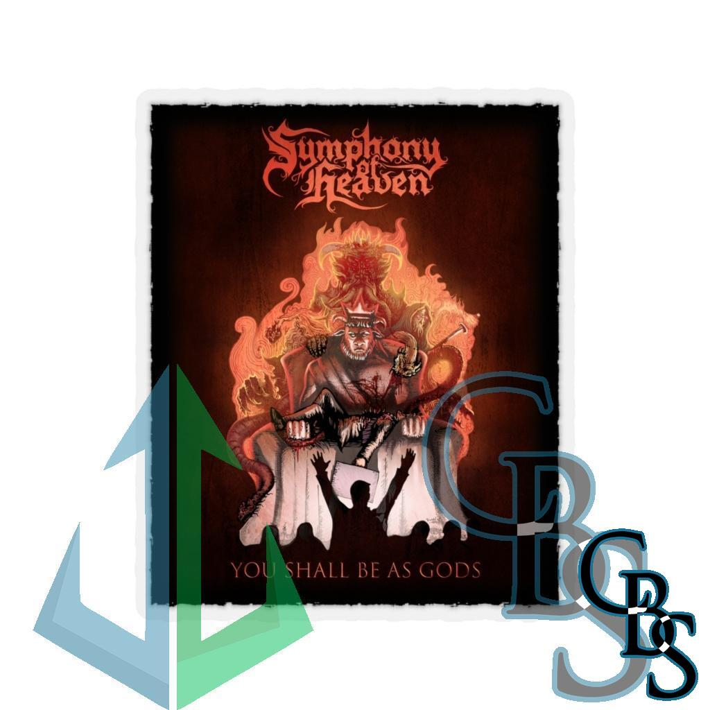 Symphony of Heaven – You Shall Be As Gods Die Cut Stickers