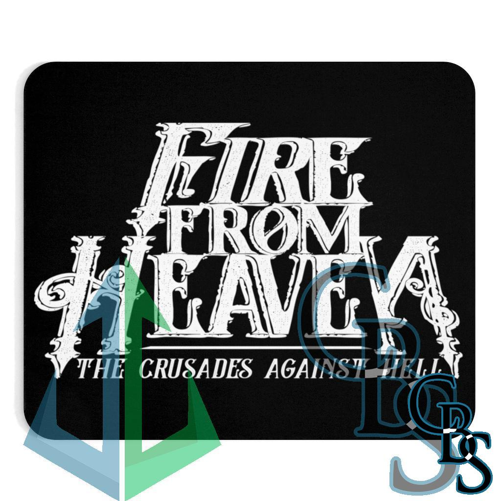 Fire From Heaven Crusades Logo Mouse Pad