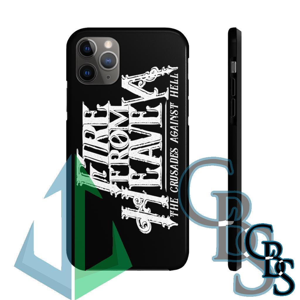 Fire From Heaven Crusades Logo Tough iPhone Cases (iPhone 7/7 Plus, iPhone 8/8 Plus, iPhone X, XS, XR, iPhone 11, 11 Pro, 11 Pro Max)