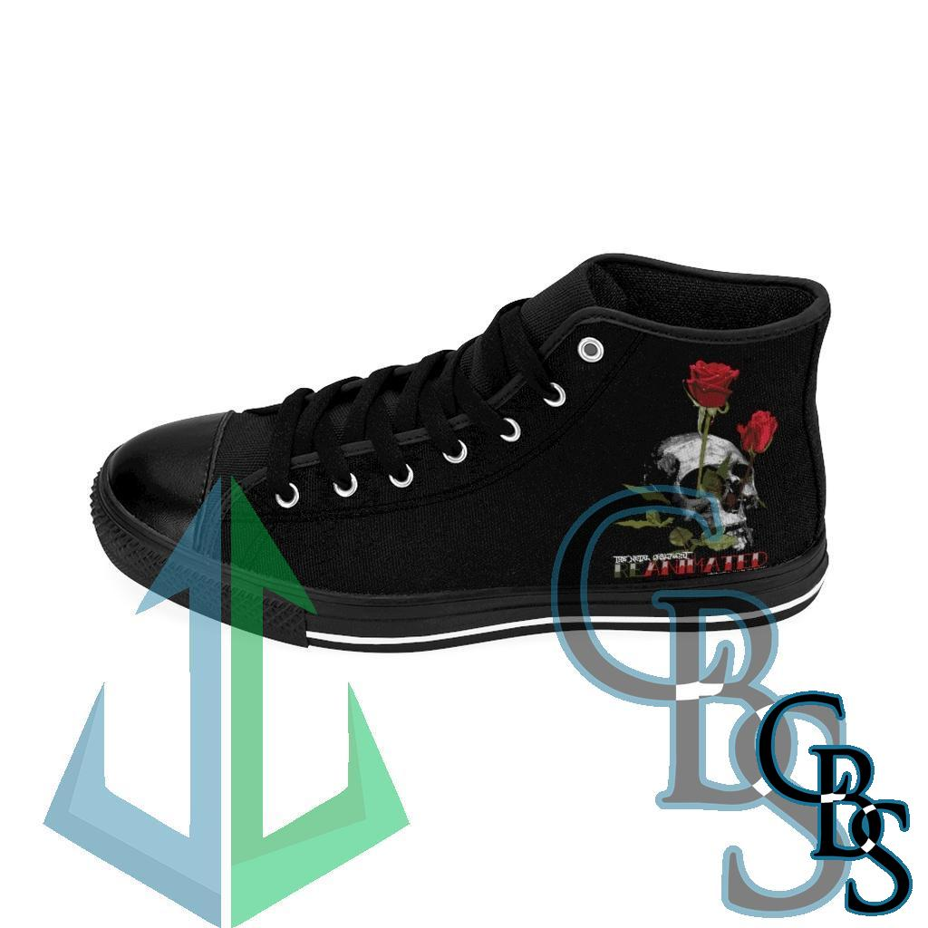 The Metal Onslaught – Death To Life Men's High-top Sneakers
