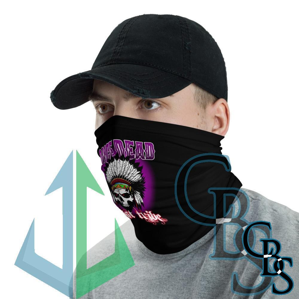Once Dead Ghost Tribe Neck Gaiter Mask