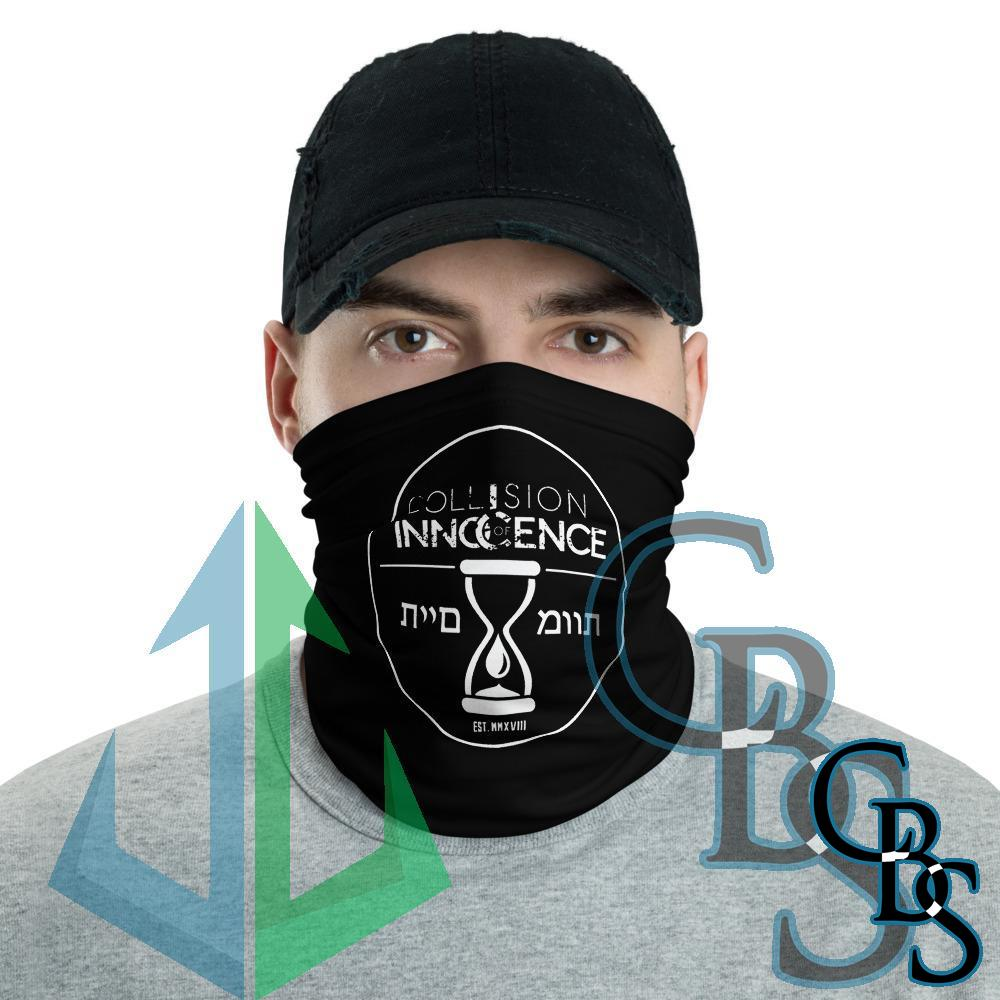 Collision of Innocence Hourglass Neck Gaiter Mask