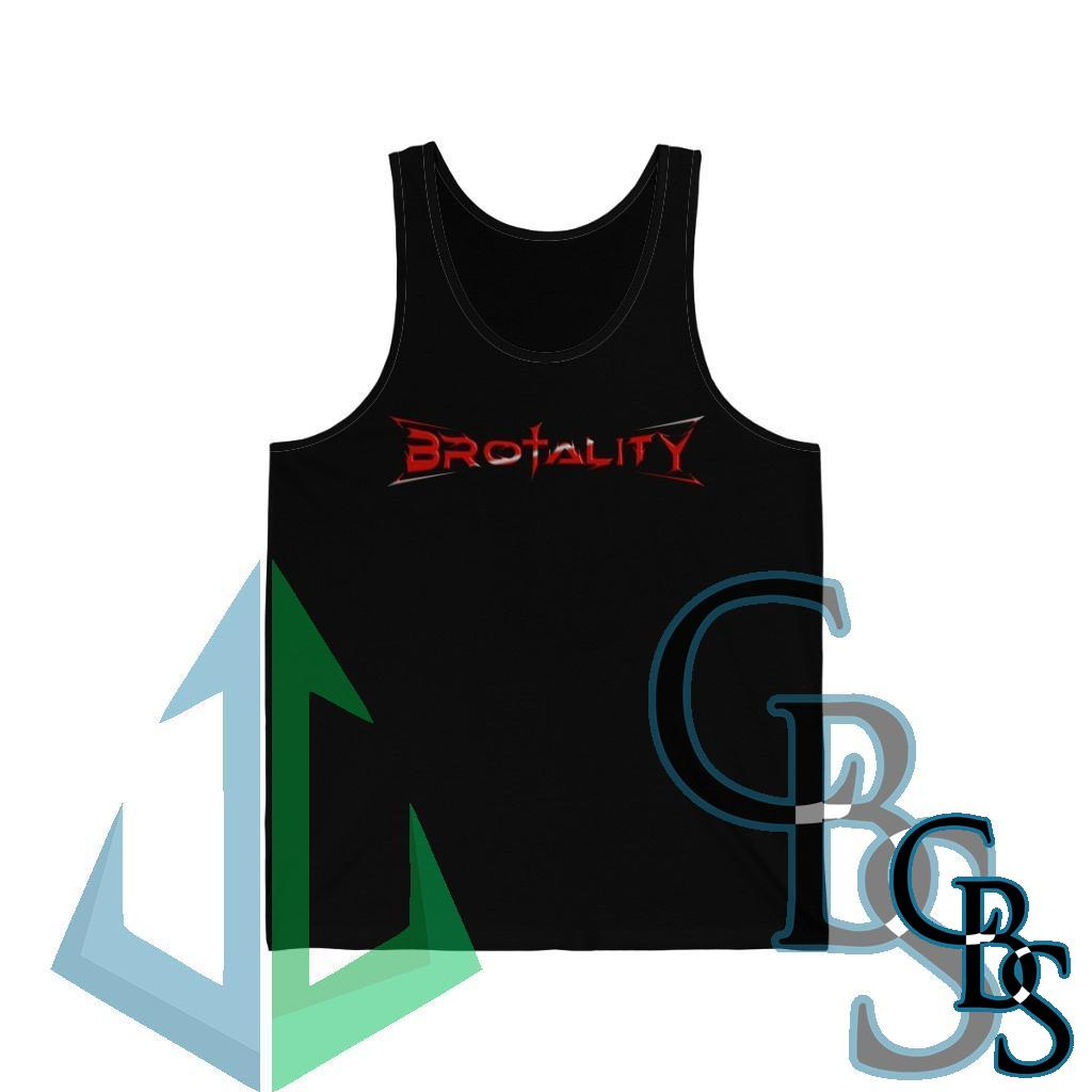 Brotality Evil Washed Away Jersey Tank Top