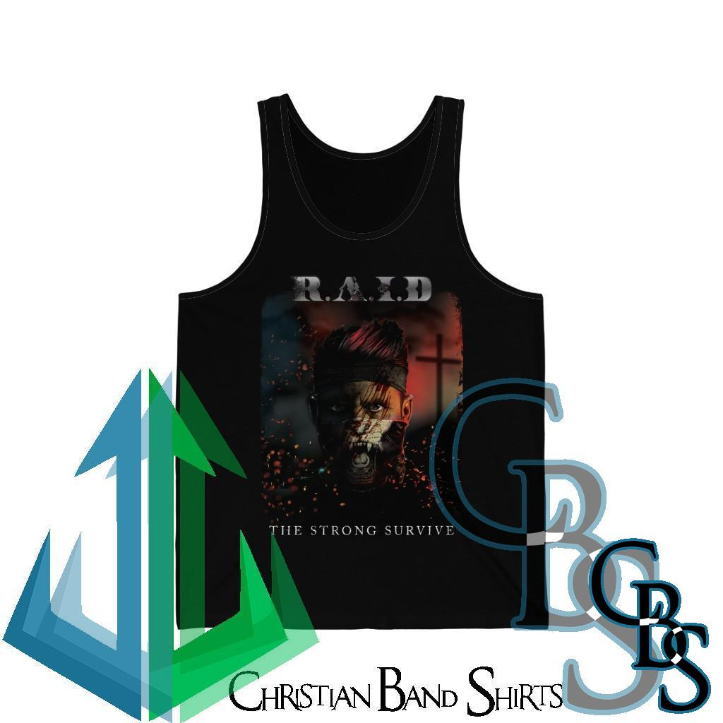 R.A.I.D – The Strong Survive Jersey Tank Top