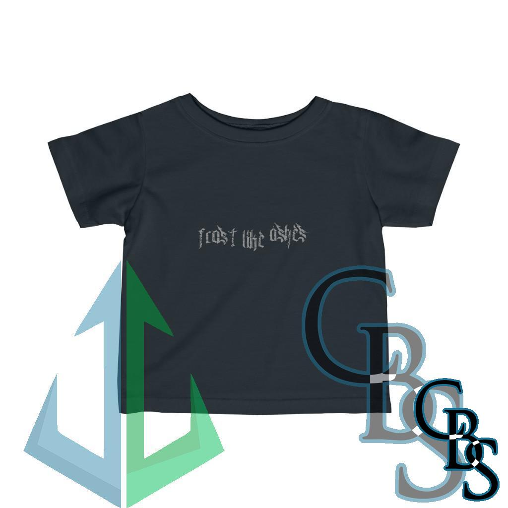 Frost Like Ashes New Logo Gray Infant Tshirt