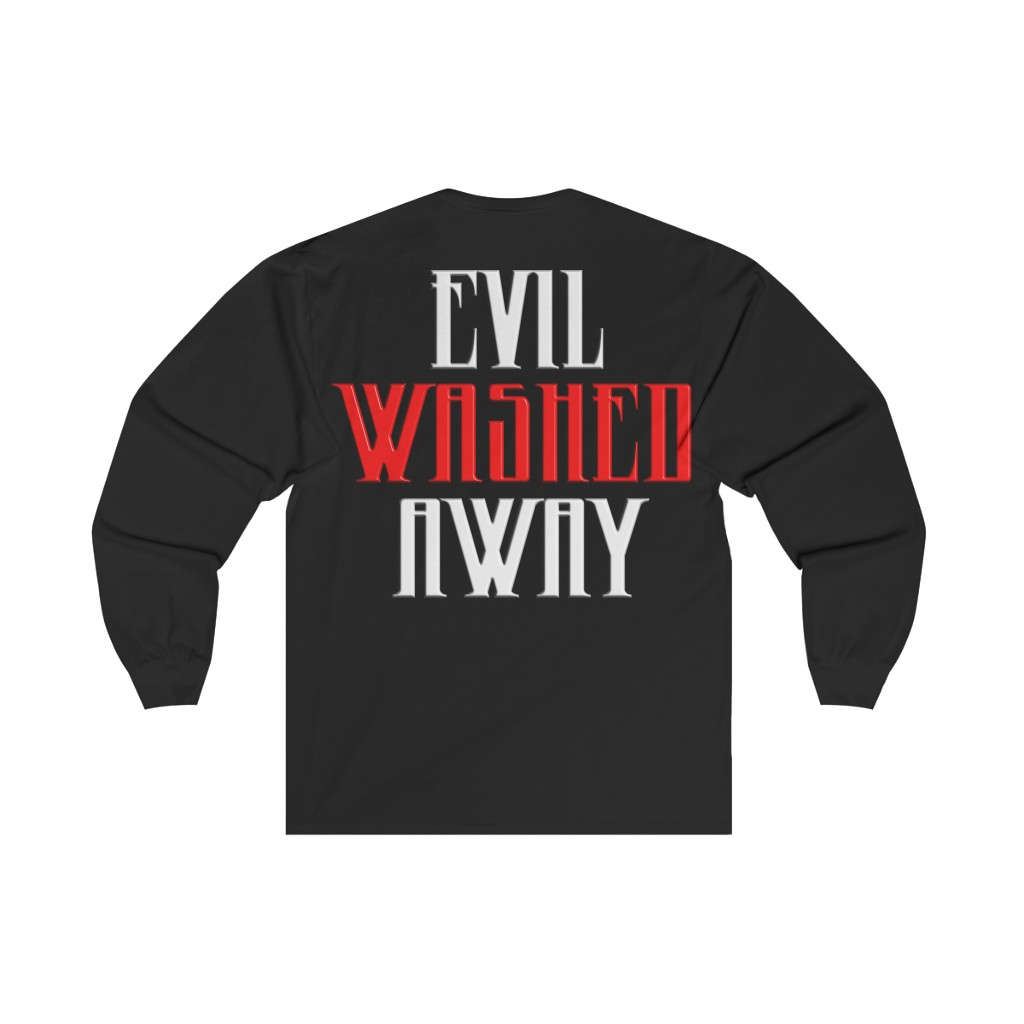 Brotality Evil Washed Away Long Sleeve Tshirt