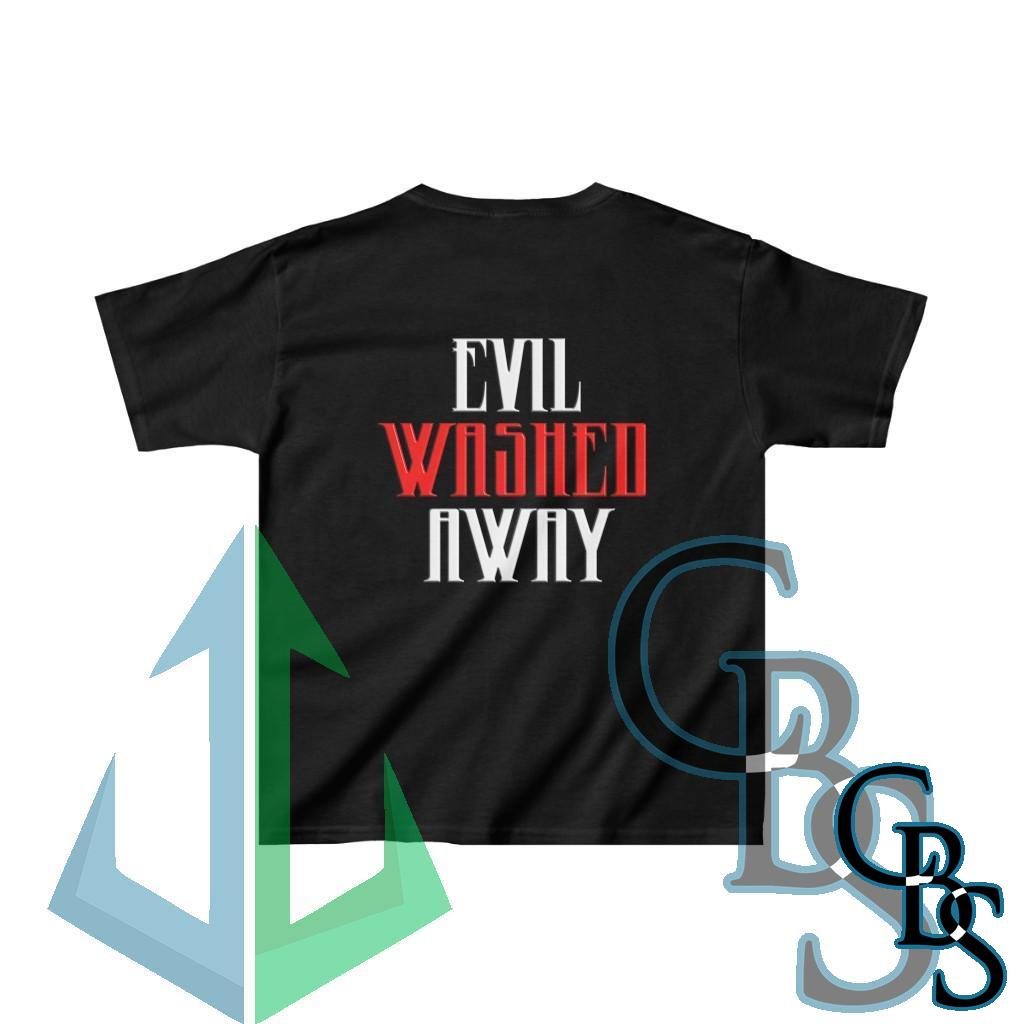 Brotality Evil Washed Away Kids Heavy Cotton Tshirt