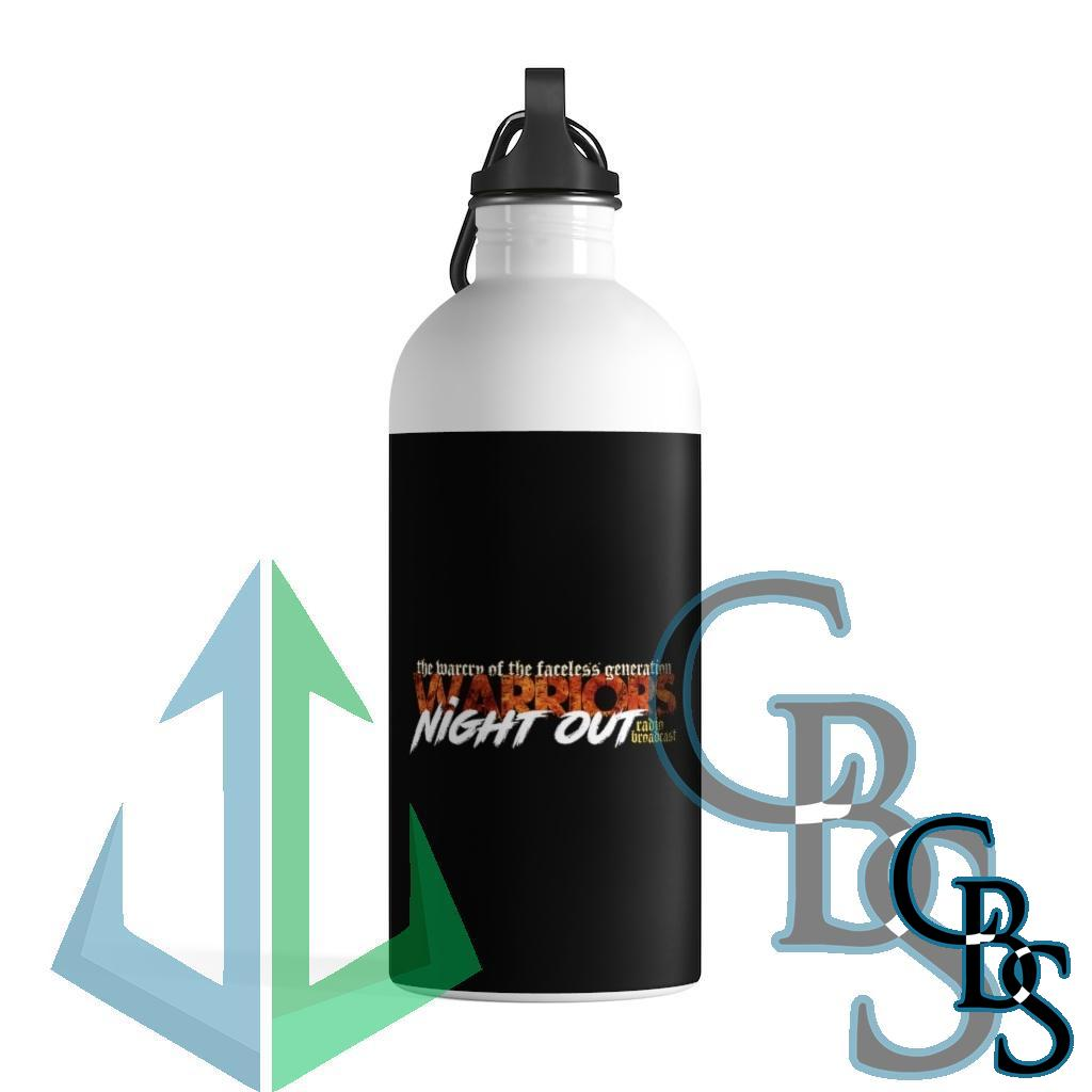 Warriors Night Out Stainless Steel Water Bottle