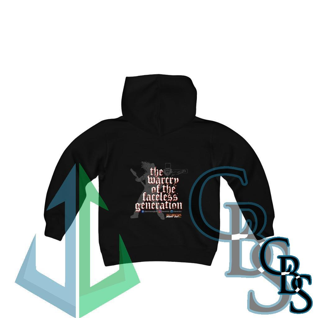 Warriors Night Out Youth Heavy Blend Hooded Sweatshirt