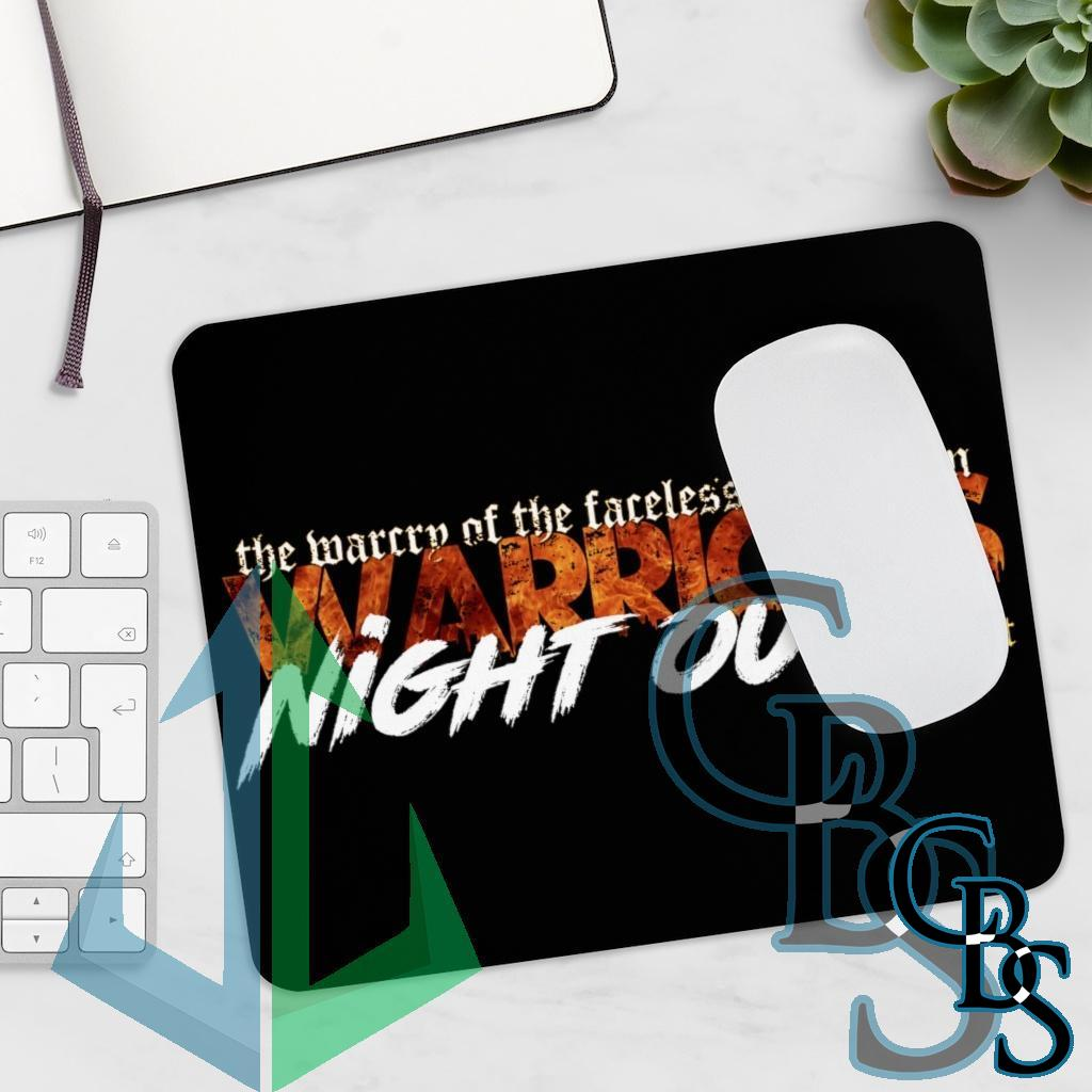 Warriors Night Out Mouse Pad
