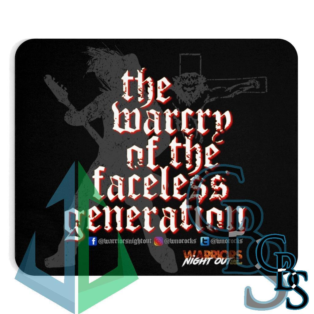 Warriors Night Out Warcry Mouse Pad
