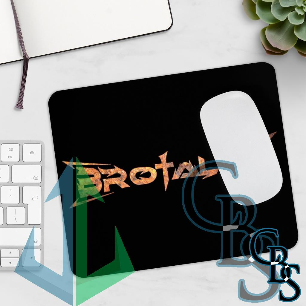 Brotality Rust Logo Mouse Pad