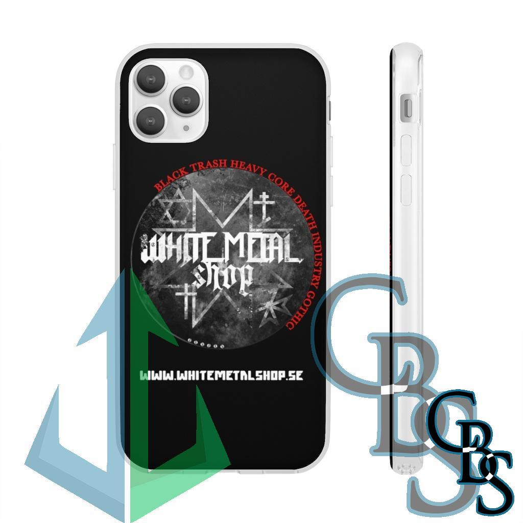 White Metal Shop Clear Edge TPU Case for Samsung S10 and iPhone 7 thru Iphone 11 Pro Max