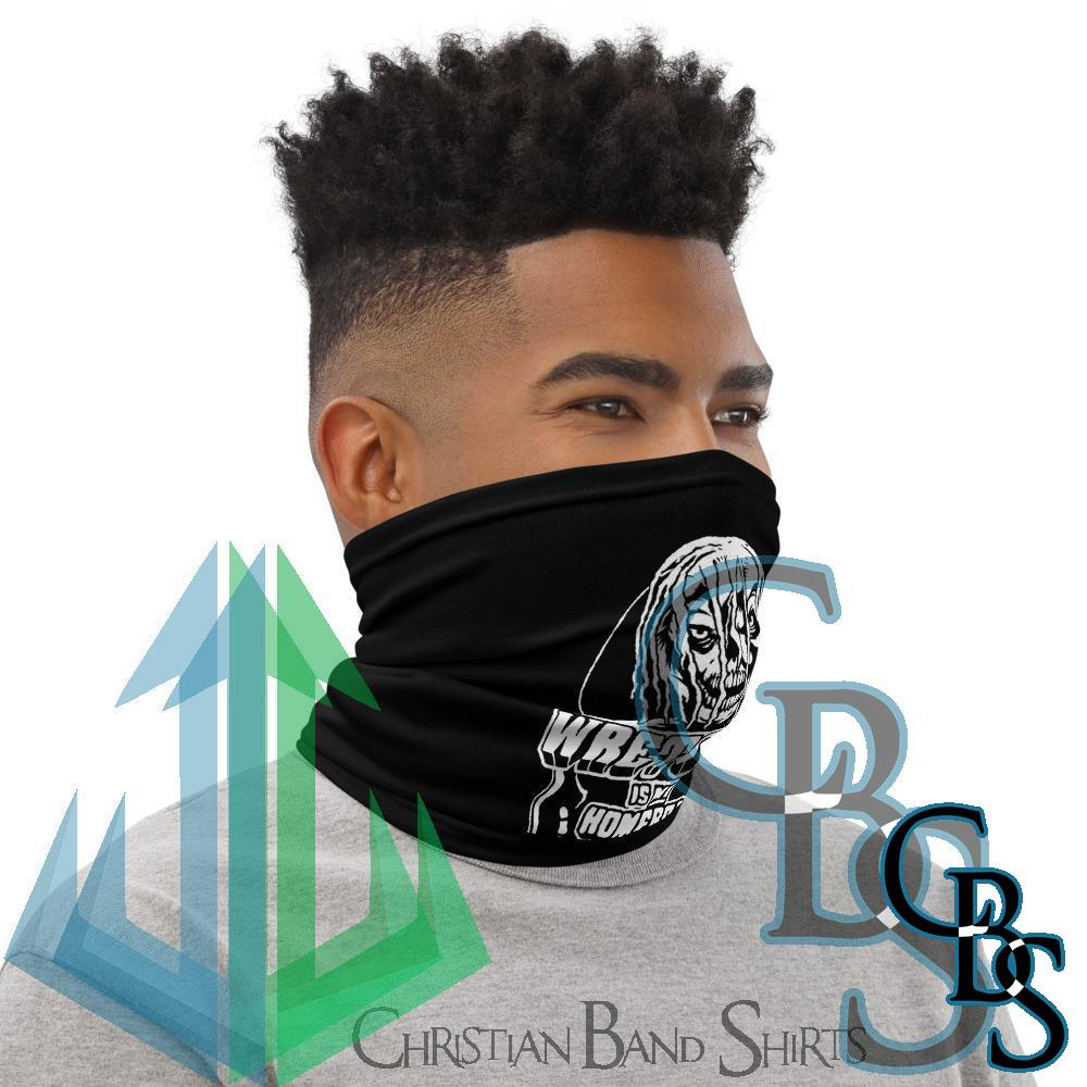 Wretched Graverobber Wretched Is My Homeboy Neck Gaiter Mask