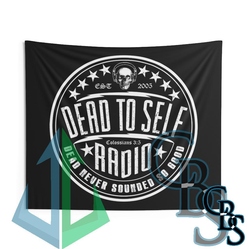 Dead to Self Radio – Dead Never Sounded Indoor Wall Tapestries