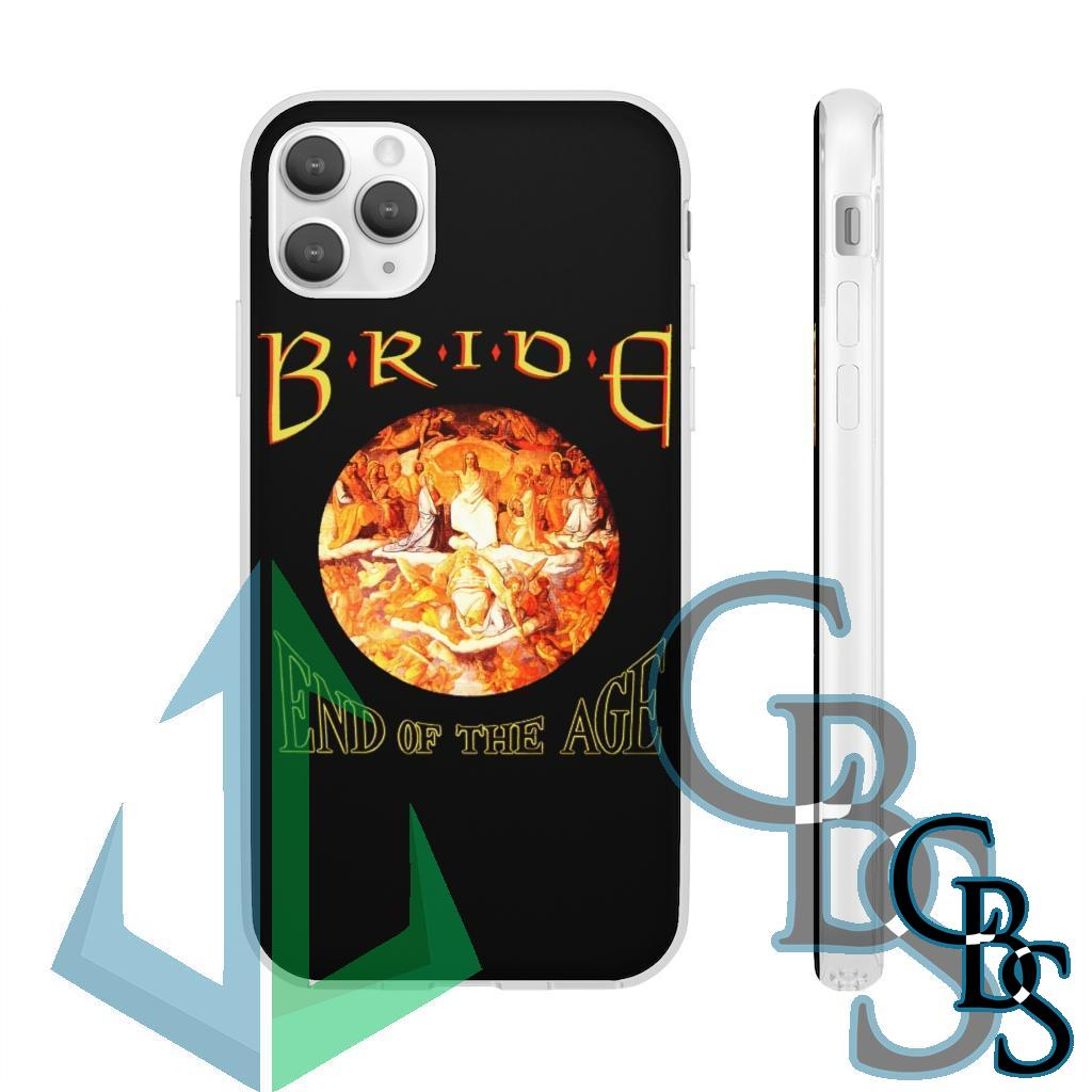 Bride – End of the Age Clear Edge TPU Case for Samsung S10 and iPhone 7 thru Iphone 11 Pro Max