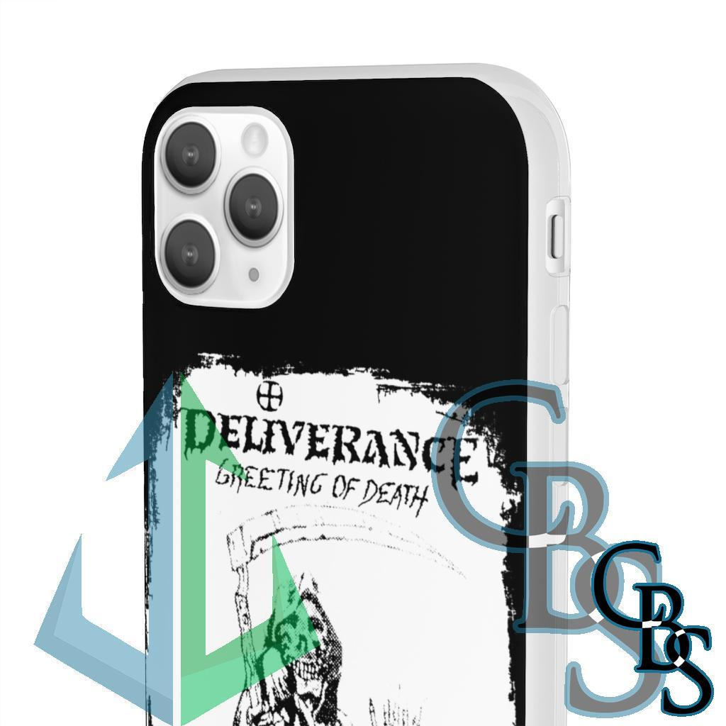 Deliverance – Greeting of Death Clear Edge TPU Case for Samsung S10 and iPhone 7 thru Iphone 11 Pro Max