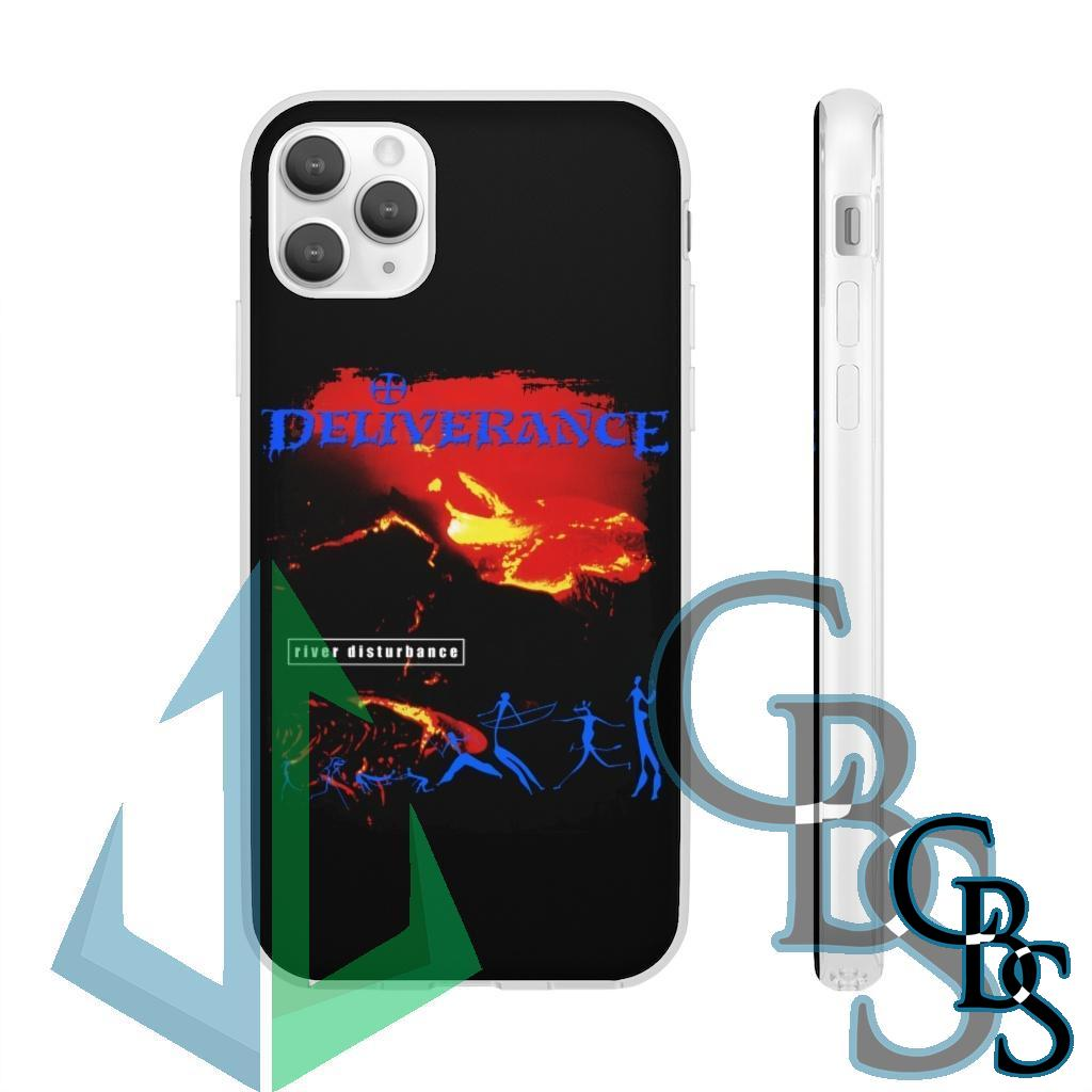 Deliverance – River Disturbance Clear Edge TPU Case for Samsung S10 and iPhone 7 thru Iphone 11 Pro Max