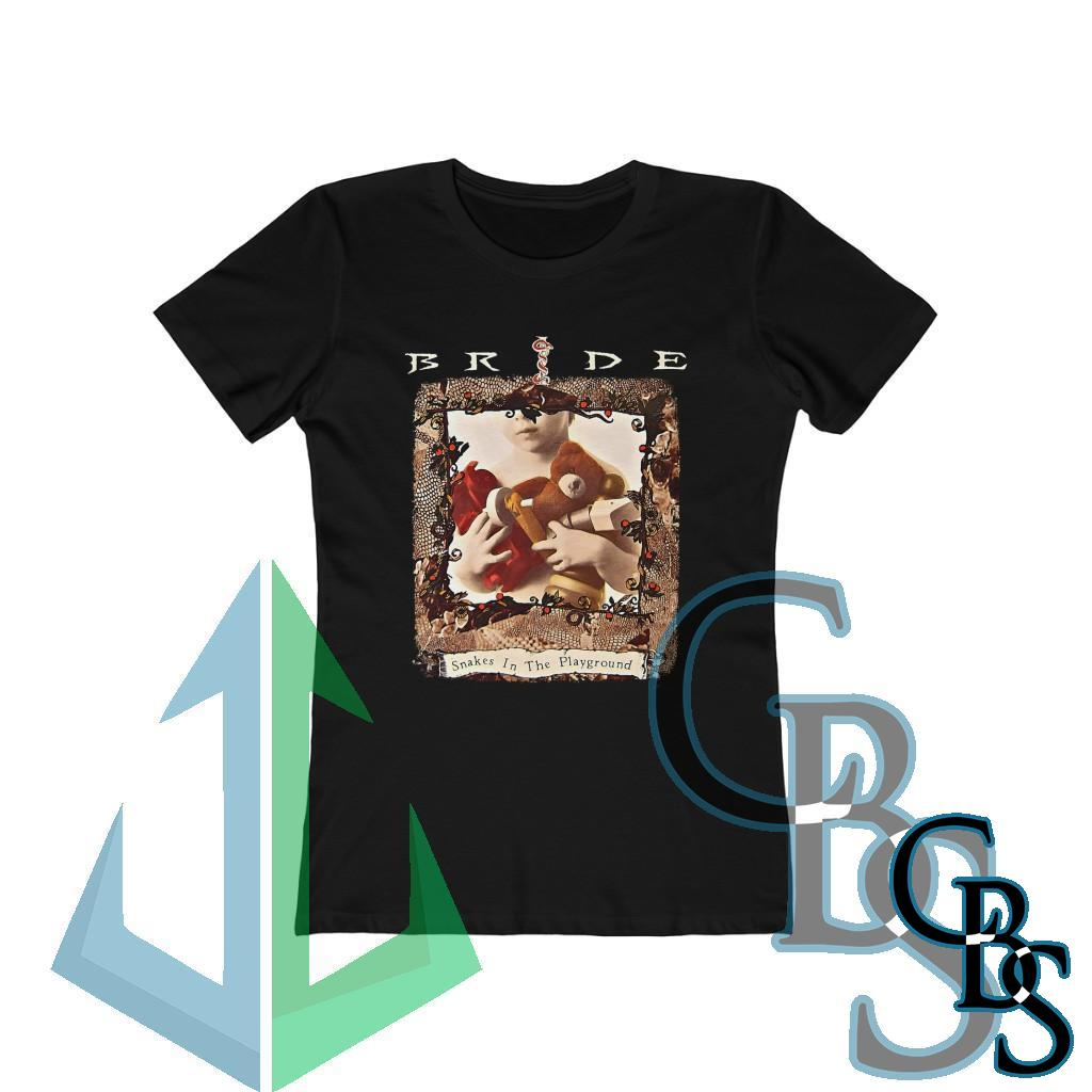 Bride – Snakes on the Playground Women's Short Sleeve Tshirt