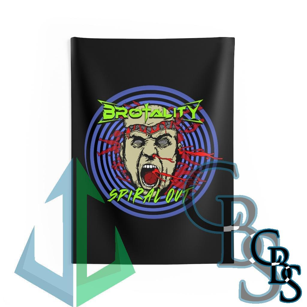 Brotality – Spiral Out Tapestries
