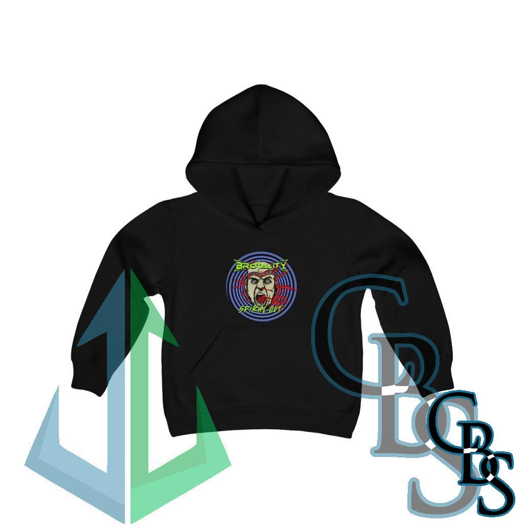 Brotality – Spiral Out Youth Heavy Blend Hooded Sweatshirt