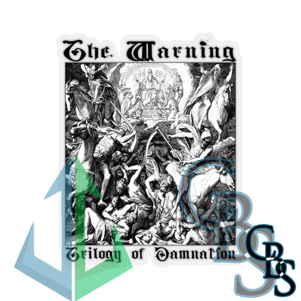 The Warning – Trilogy of Damnation Die Cut Stickers