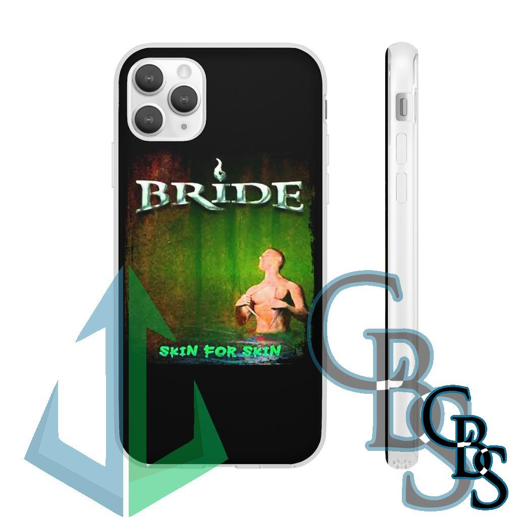 Bride – Skin For Skin V2 Clear Edge TPU Case for Samsung S10 and iPhone 7 thru Iphone 11 Pro Max
