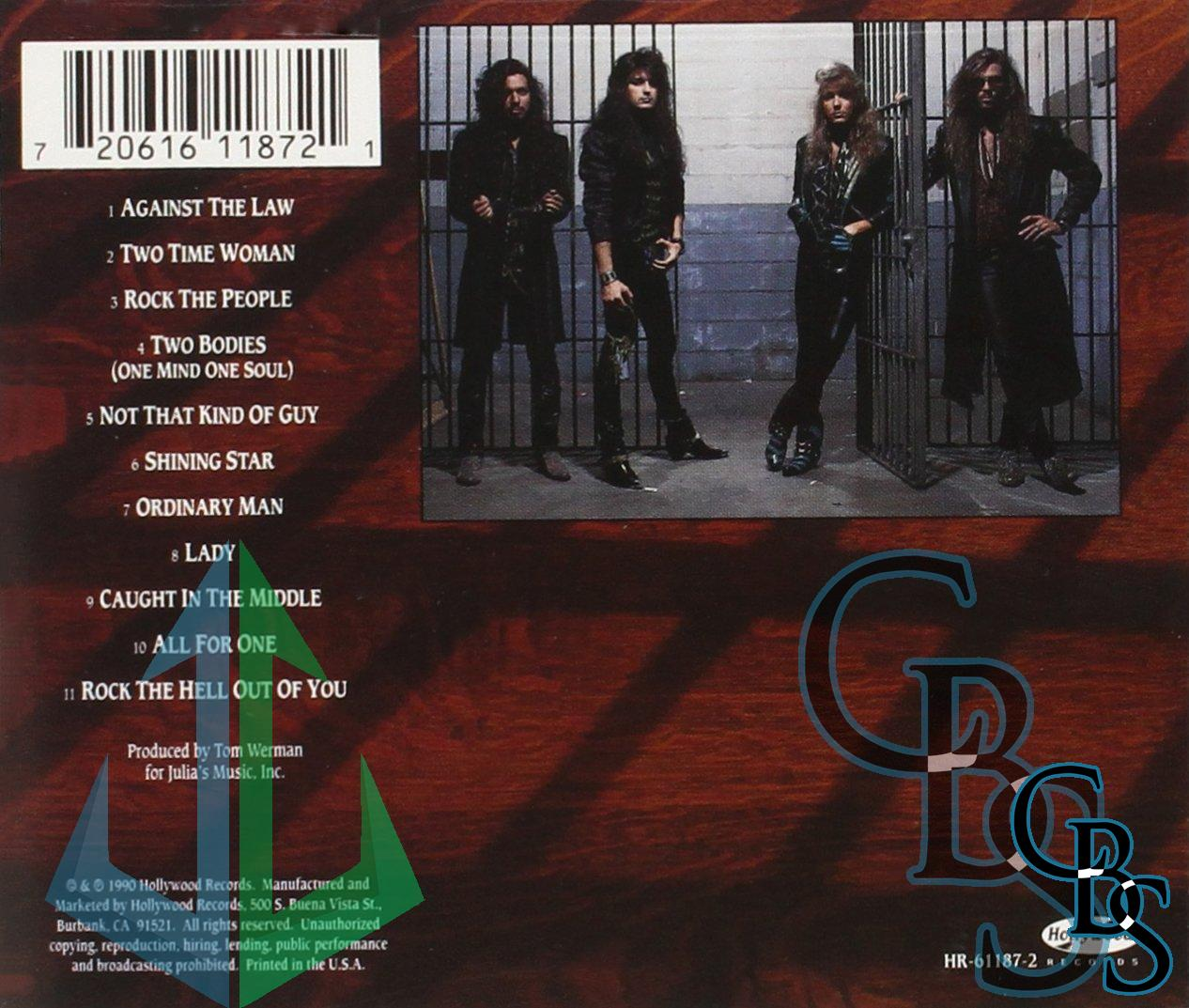 Stryper – Against The Law Compact Disc