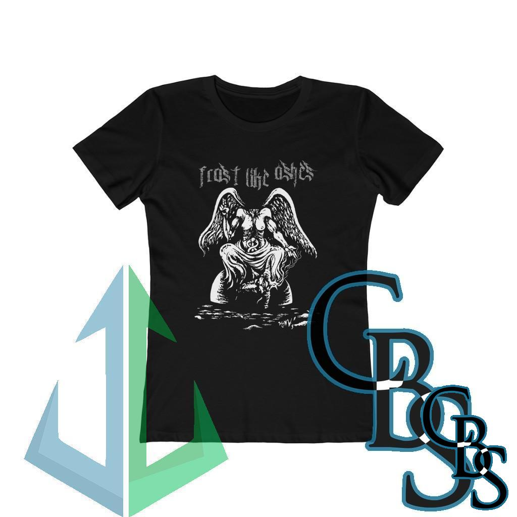 Frost Like Ashes Desecrated Baphomet  Women's Tshirt