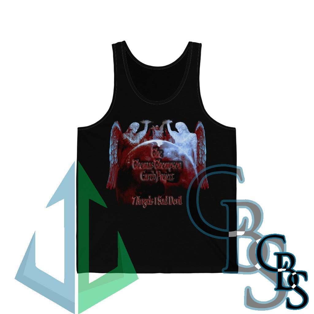 The Thomas Thompson Earth Project 7 Angels Unisex Jersey Tank