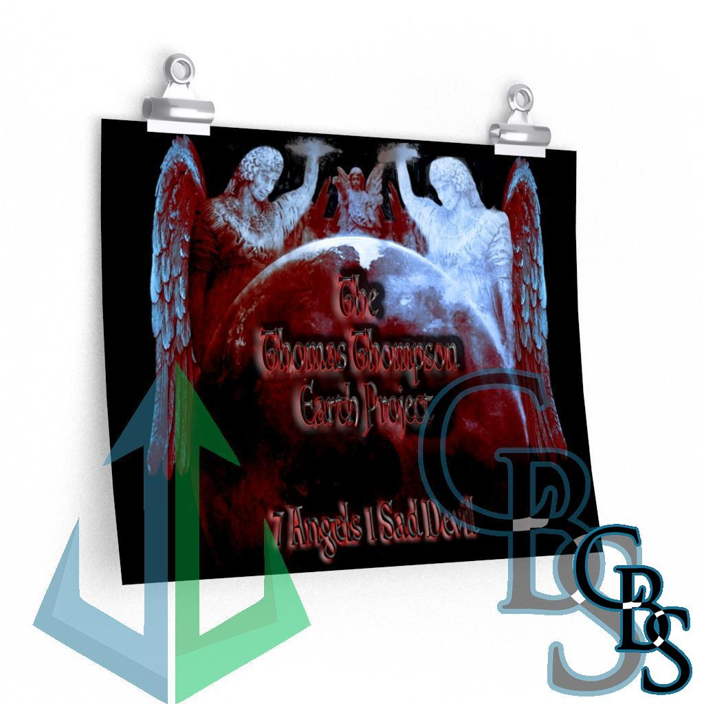 The Thomas Thompson Earth Project 7 Angels Posters
