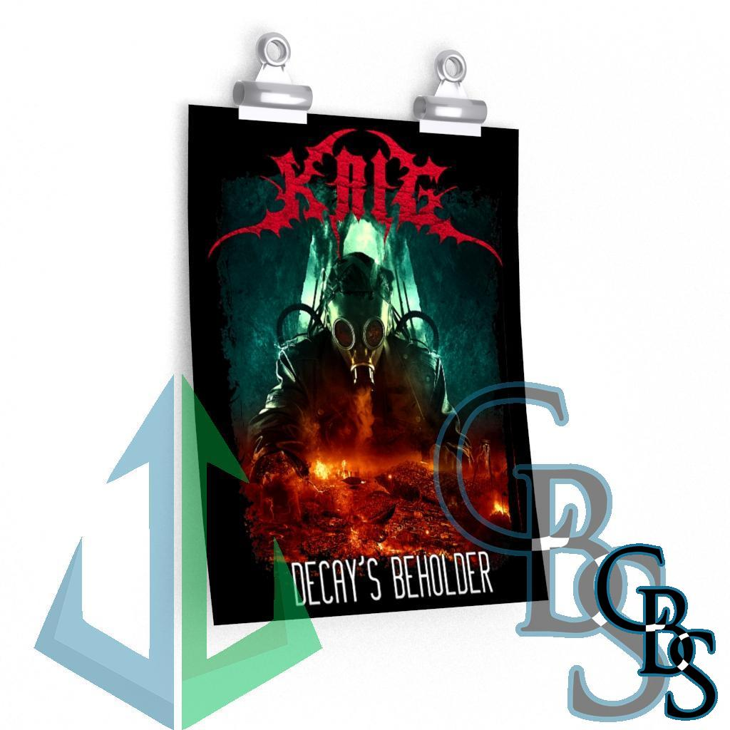 Krig – Decay's Beholder Posters